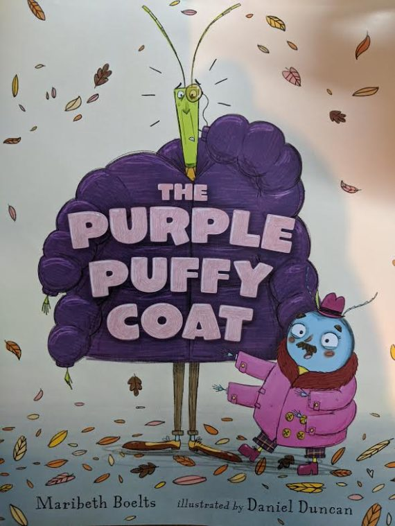 The Purple Puffy Coat Coming This Fall